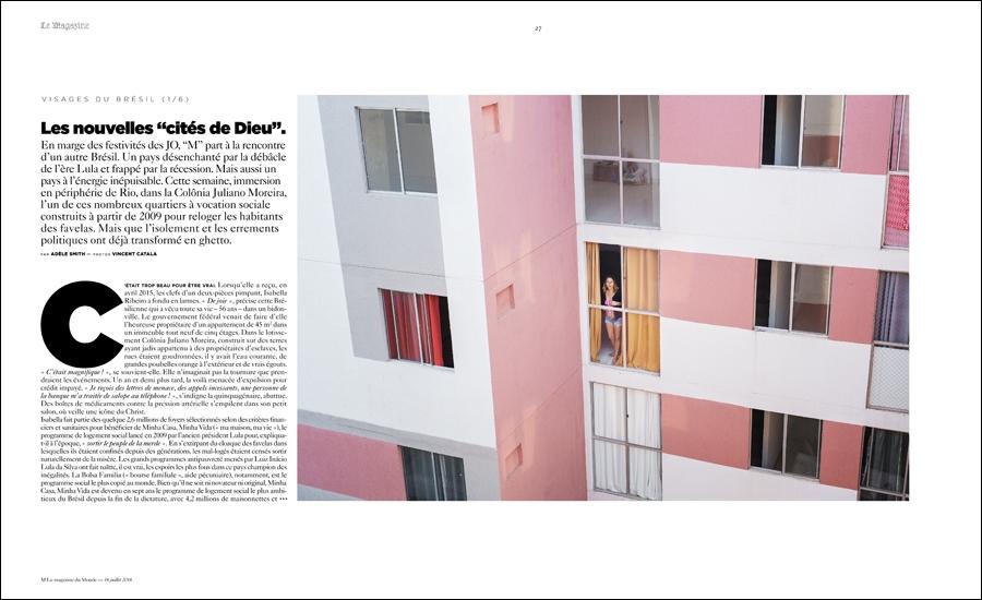 M Le Monde   Rio : Vincent Catala